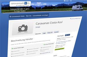 discoverize web portal aktives portal: caravanmarkt.info