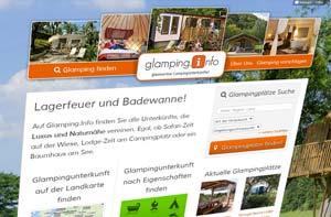 discoverize web portal aktives portal: glamping.info
