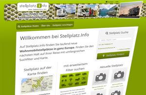 discoverize web portal aktives portal: stellplatz.info